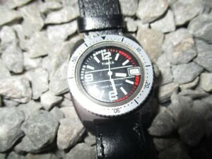 【送料無料】腕時計 ビンテージレディースダイバーダイバーマニュアルtimex vintage damen diver taucheruhr handaufzug 32 mm 70er jahre 1970s