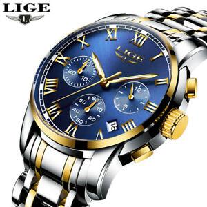 【送料無料】腕時計 ファッションビジネススポーツフルスチールfashion business quartz watch men sport full steel waterproof wristwatch gift