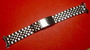 【送料無料】腕時計 ステンレスブレスレットprospect stainless steel watch bracelet 19mm
