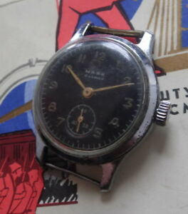 【送料無料】腕時計 majak montre mcanique ancienne 16 rubis made in urss 19501960