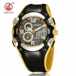 【送料無料】腕時計 ファッションアルバートデジタルスポーツウォッチブラックラバー