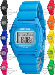 【送料無料】腕時計 デジタルウォッチdigital wrist watch xonix for women and children, quartz, wr100m