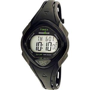【送料無料】腕時計 ラップウォッチアラームtimex tw5m10300, womens ironman 30lap resin watch, sleek, alarm, indiglo