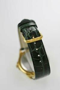 腕時計 パルサーメンズウォッチステンレスゴールドウォーターバッテリークォーツpulsar watch mens day date stainless gold water res green leather battery quartz