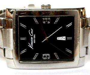 【送料無料】腕時計 ケネスmens large kenneth cole kc 3989 u5411 quartz wrist watch works well