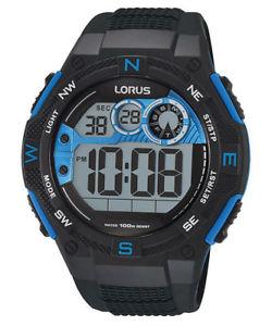 【送料無料】腕時計 クロノグラフメンズウォッチクロノデジタルlorus herrenuhr digital chronograph chrono r2317lx9