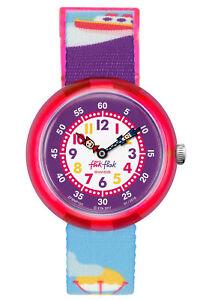 【送料無料】腕時計 キディflik flak kinderuhr ship ahoj fbnp105