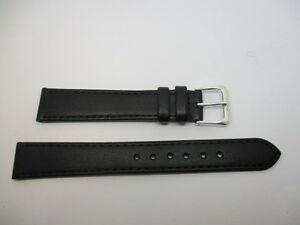 【送料無料】腕時計 ブレスレットノワールオオヤマネコbracelet montre en cuir noir t16 lynx 286 anti allergy