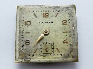 【送料無料】腕時計 サービスビンテージ?zenith small manual works need service vintage cal for parts w788