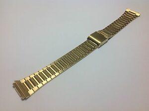【送料無料】腕時計 メンズゴールドエレクトロプレートステンレススチールクラスプバックスライド