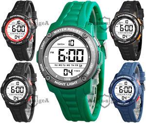 【送料無料】腕時計 シリコンストラップデジタルウォッチメートルdigital xonix watch for men, quartz, silicone strap, multifunction, wr100m