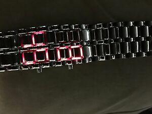 【送料無料】腕時計 メンズデジタルステンレススチールwhole 6x mens led digital stainless steel watches