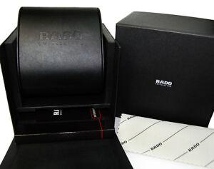 【送料無料】腕時計 ボックスカードホルダーポリッシングクロスセットブックレットrado watch storage box, card holder, polishing cloth, amp; instruction booklet set