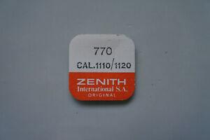 【送料無料】腕時計 zenith movado 11101120 movement part number 770