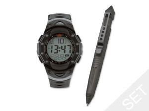【送料無料】腕時計 ウージーペンセットuzi pen amp; watch gift set