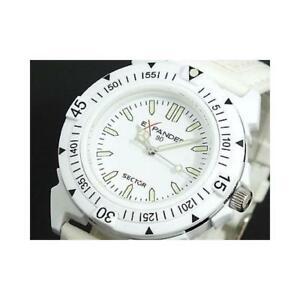 【送料無料】腕時計 セクターアルソロテンポビアンコsector expander r3251197045 al quarzo analogico solo tempo policarbonato bianco