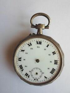 【送料無料】腕時計 ノートルダムデュアルジェントmontre gousset en argent xixme restaure