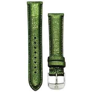 【送料無料】腕時計 ミケーレストラップサファリデコmichele 16mm safari green leather strap ms16aa060306 deco 16 lilou cloette