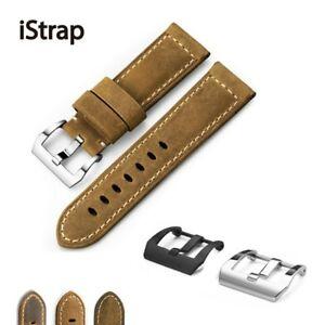 【送料無料】腕時計 ユニークウォッチストラップカーフレザーブレスレットウォッチistrap unique 22mm 24mm 26mm watch strap genuine calf leather bracelet watch