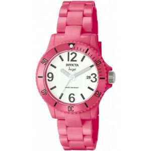 腕時計 ピンクプラスチックinvicta  angel womens 1209 pink plastic watch