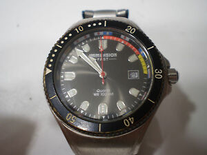 【送料無料】腕時計 クォーツサブダイバーimmersion fast orologio quartz sub diver