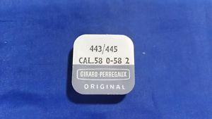 【送料無料】腕時計 ジラールレバーネジnos original girardperregaux 443445 setting lever, screw cal580582