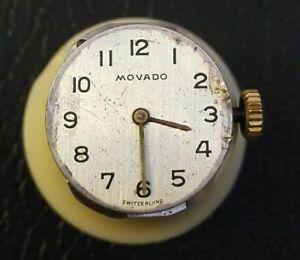 【送料無料】腕時計 orologio movado 58 da donna funzionante e revisionato movado working watch