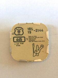 【送料無料】腕時計 #レバースプリングパーツfhf 18 12034; 19034; 2144 tiretto lever spring tirette part 445