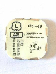 【送料無料】腕時計 #レバースプリングパーツlanderon 13 34034; 48 tiretto lever spring tirette part 445