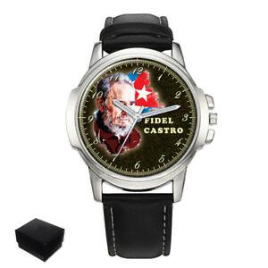 【送料無料】腕時計 フィデルカストロキューバメンズfidel castro cuba gents mens wrist watch engraving