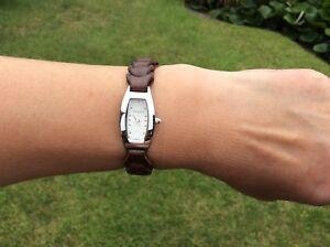 【送料無料】腕時計 テッドレザーストラップベーカーウォッチ womens ted baker watch with leather strap