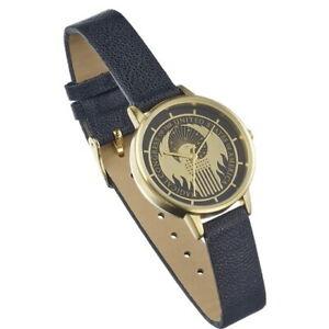 【送料無料】腕時計 ロゴicial fantastic beasts the magical congress gold raised logo wristwatch