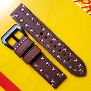 【送料無料】腕時計 ブレスレットbracelet cuir pour montre 22mm