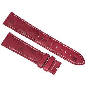 【送料無料】腕時計 ハドレーダチョウストラップマットブーゲンビリアhadley roma 20 mm matte bougainvillea ostrich leather strap 20os37c