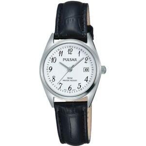 【送料無料】腕時計 パルサーレディースストラップ×pulsar ladies leather strap watch ph7447x1pnp