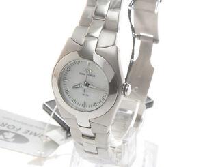 【送料無料】腕時計 ドナメートルtime force, orologio da donna, reftf2515l02m, qdtbianco d99