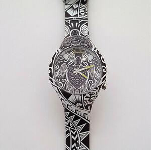 【送料無料】腕時計 マオリアートウォッチdoodle watch orologio tartaruga maori art doar 002