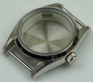 【送料無料】腕時計 ステンレススチールケースカスタムオマージュケースstainless steel watch case custom build polished generic homage eta 2824 cases