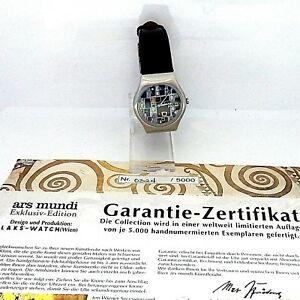 【送料無料】腕時計 グスタフクリムトペイントゴールドエディションコレクターフルフィルメントウォッチ