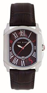 【送料無料】腕時計 テッドベーカータイムレザーストラップウォッチテted baker gents right on time leather strap watch te1084xtbnp