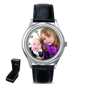 【送料無料】腕時計 パーソナライズカスタムレディースバレンタインデーpersonalised custom ladies wrist watch family photo valentines day gift
