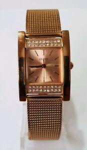 【送料無料】腕時計 レディースローズゴールドトーンウォッチguess ladies rose gold tone watch w0127l3
