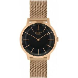 【送料無料】腕時計 ヘンリーロンドンレディースローズゴールドメッキウォッチhenry london ladies rose gold plated watch hl34m0234 hlnp