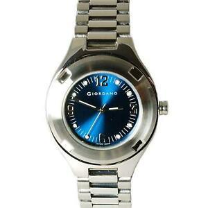 【送料無料】腕時計 ジョルダーノレディースブレスレットストラップシルバーストーンウォッチgiordano 20483 ladies silver tone bracelet strap watch