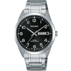 【送料無料】腕時計 パルサーステンレススチール×pulsar gents stainless steel watch  pj6063x1pnp