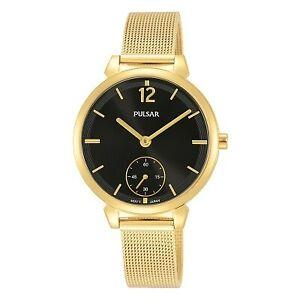 【送料無料】腕時計 パルサーレディースメッシュブレスレット×pulsar ladies mesh bracelet watch  pn4076x1pnp