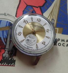 【送料無料】腕時計 sputnik spoutnik montre mcanique ancienne made in urss