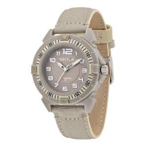 【送料無料】腕時計 セクターベージュサブメートルorologio sector expander 90 r3251197137 pelle cordura sabbia beige sub 100mt