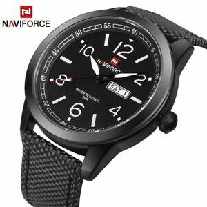 【送料無料】腕時計 フォースファッションメンズナイロンストラップメンズnaviforce watches fashion men top luxury mens nylon strap wristwatches mens