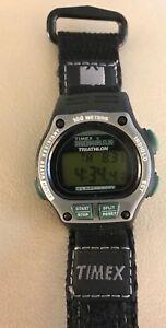 【送料無料】腕時計 ビンテージトライアスロンmラップウォッチvintage timex womens ironman triathlon 8 lap 100m watch w fast wrap nwot